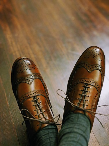 Allen Edmonds McAllisters in Dark Chili | by jikaasik