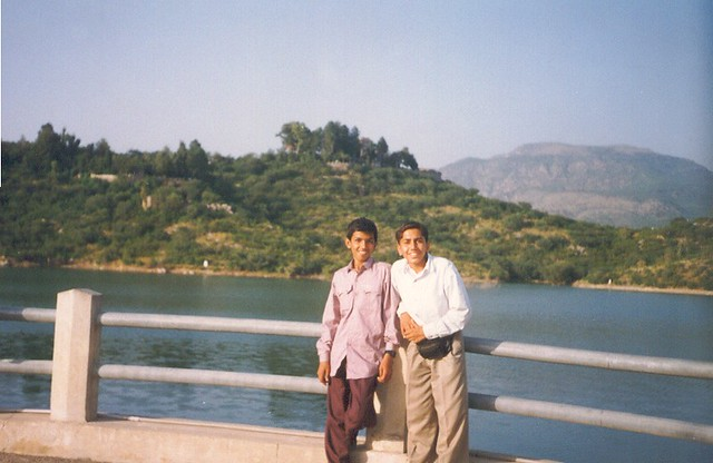 Year 1996 Me & Mohsin (Khan Pur Dam)