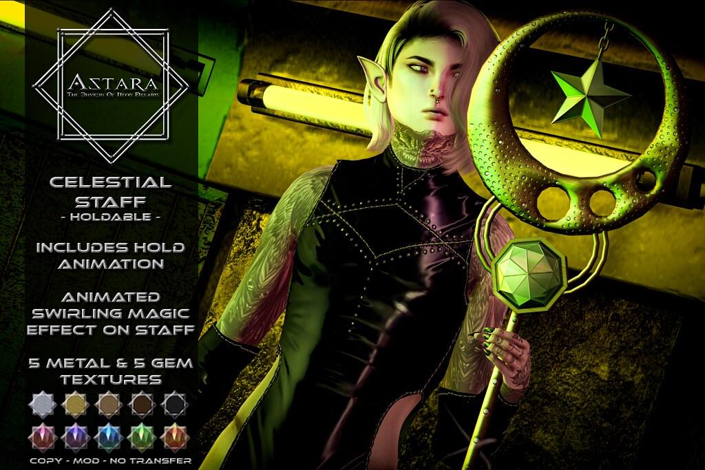 Astara – Celestial Staff Ad