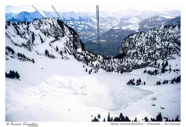Frozen Hinterstockensee -  Switzerland - NZ6_3750