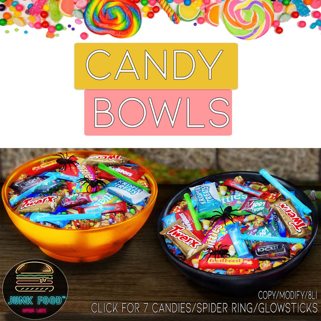 Junk Food – Candy Bowls Ad