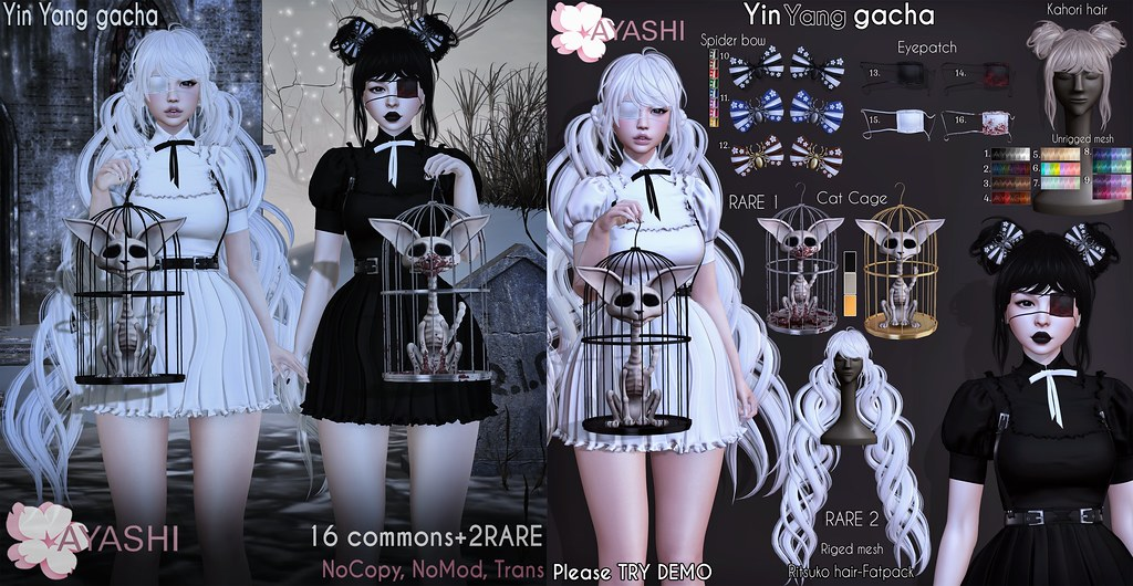 [^.^Ayashi^.^] Yin Yang Gacha special for The Epiphany