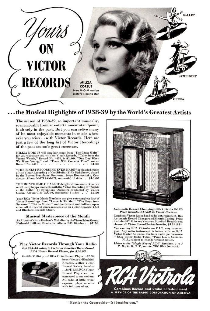 RCA Victrola 1939
