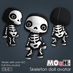 MOoH! Skeleton doll avatar