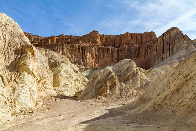 Armchair Traveling - The Red Cathedral in Death Valley