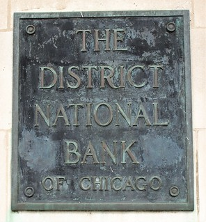 Former District Bank of Chicago