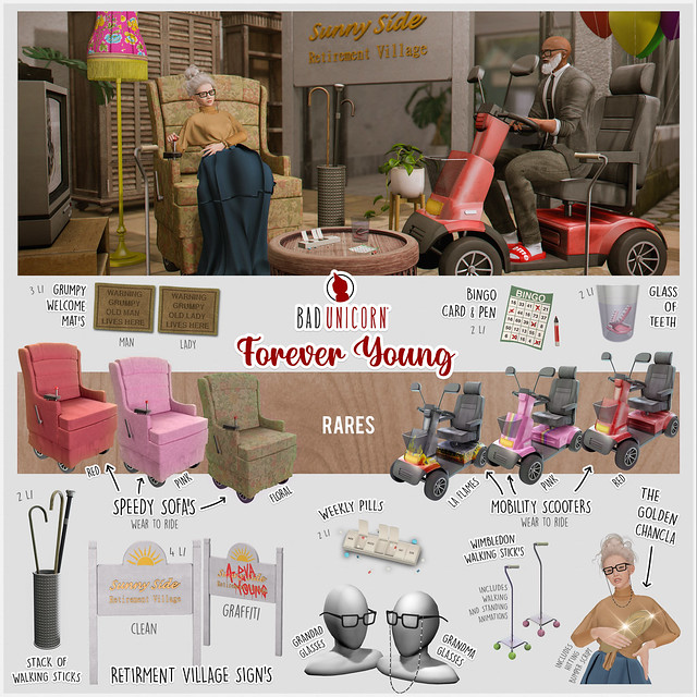 NEW! Forever Young Gacha @ The Epiphany
