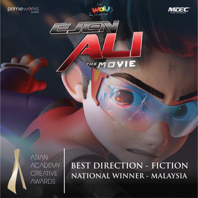 EJEN ALI THE MOVIE & ALIF & SOFIA Menang di Asian Academy Creative Awards 2020