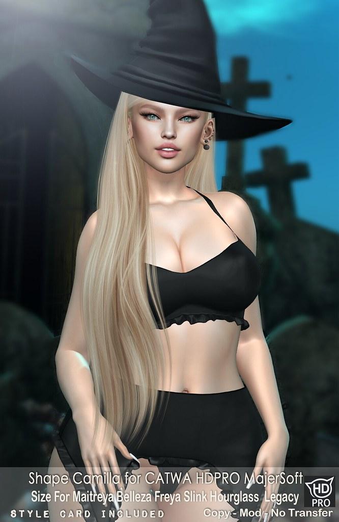 Malibu Shapes ::: Camilla – CATWA HDPRO MajerSoft