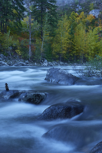 One of the first shots I took upon arrival at Tumwater Canyon near Leavenworth