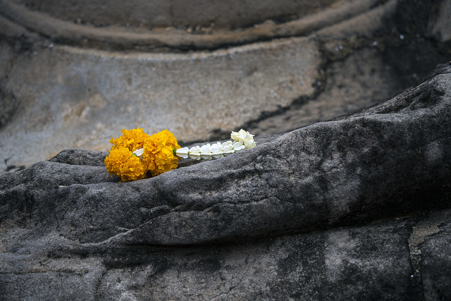 Buddha Holding Flower 1a