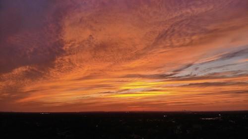 brandonflorida valricoflorida glow orange dji mavicair mavic djimavicair dronephotography aerialphotography uav drone florida sunset