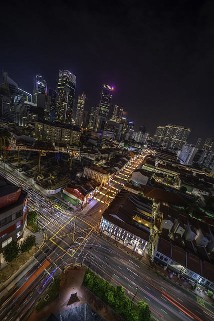Nightscape, Singapore