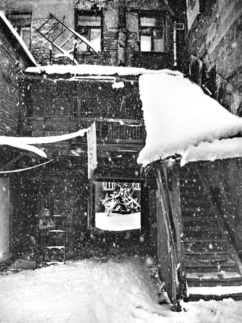 1992. Мартовский снег в Москве