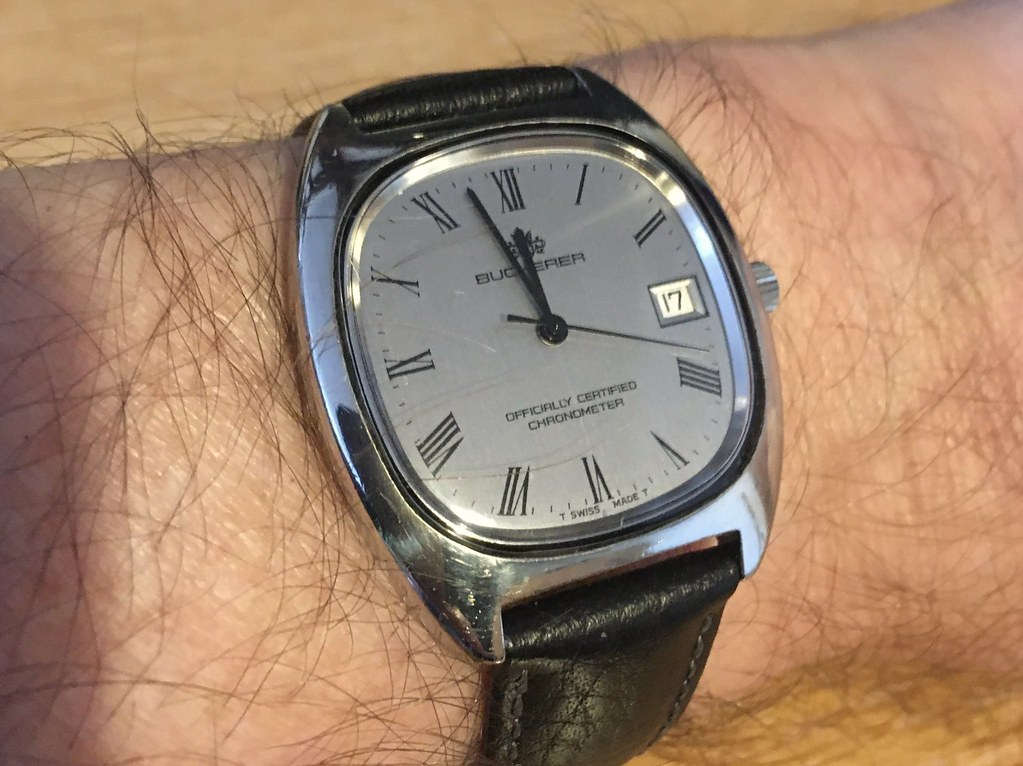 Bucherer ETA 2824 chronometer
