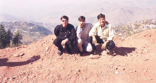 (Year 1999) Naveed, Salman & Usman (Murree)