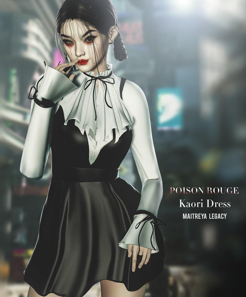 POISON ROUGE Kaori @Tres Chic