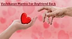 Vashikaran On Boyfriend