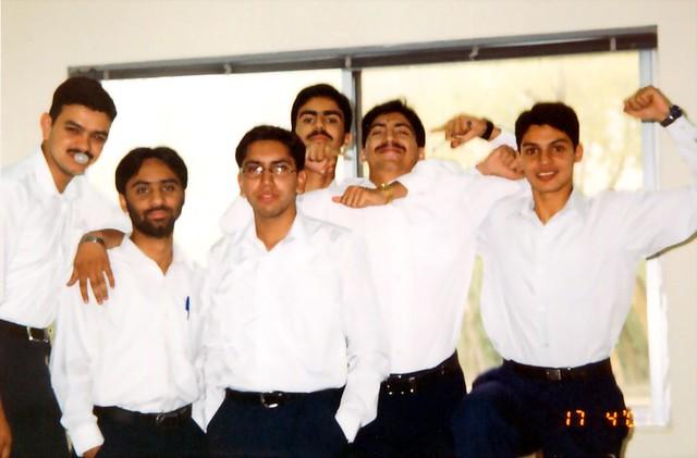 (Bahria University Class) Me, Mobeen, Mubashir, Omer, Saeed & Abid
