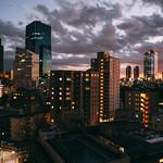Tokyo after sunset