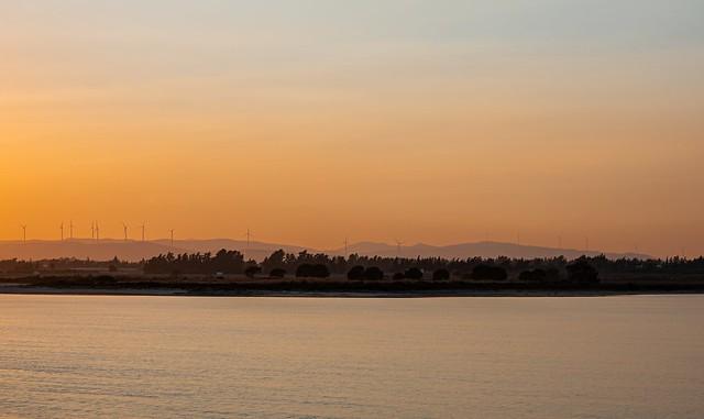 Warm sunset