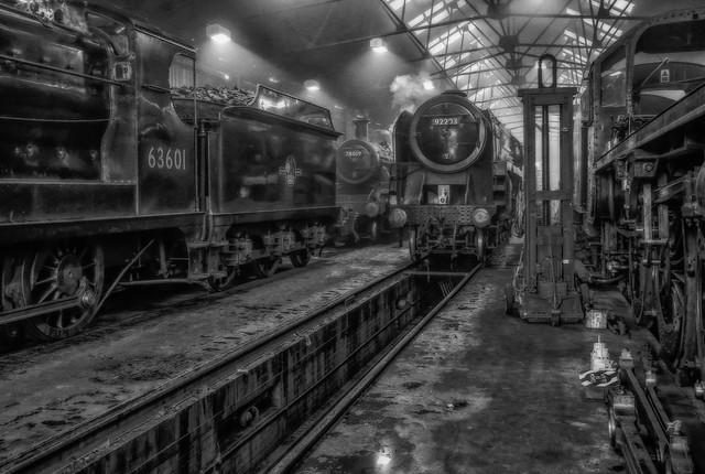 Loughborough Steam Locomotive Depot