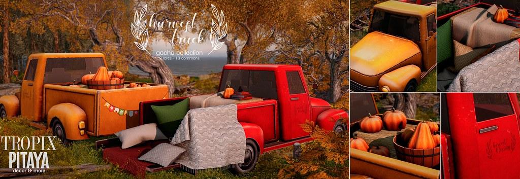 Pitaya&Tropix – Harvest truck Flick