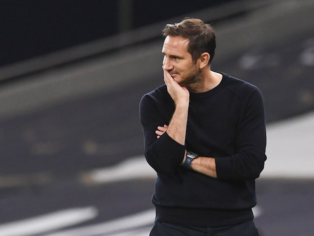Frank Lampard before Match of the Day 17/10/20