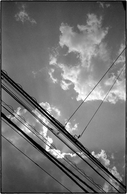 On a beautiful day like today - Upwards, Suginami Sky