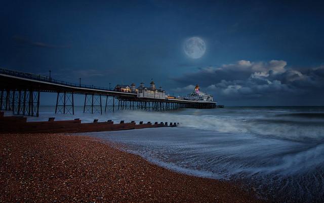 Eastbourne in Blue