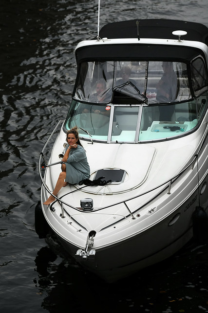 The Lady on the Boat