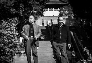 Two elderly men at Leifong Pagoda by gunman47