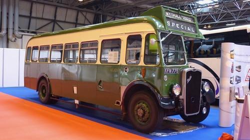 KFM 775 'Crosville' No. KG126. Bristol L5G / Eastern Coachworks on Dennis Basford's railsroadsrunways.blogspot.co.uk'