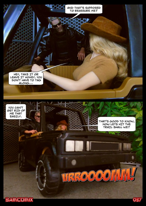 BAMComix Presents - Agent Down - Chapter Three - The chase is on! 50497083526_ce2248d6fa_c
