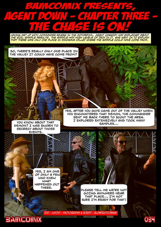 BAMComix Presents - Agent Down - Chapter Three - The chase is on! 50497084646_862ba8c17b_c