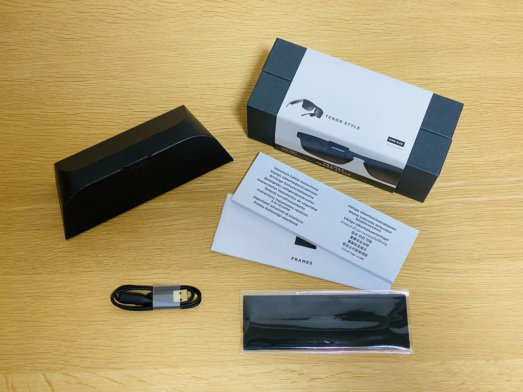 Bose Frames Tenor Unboxing
