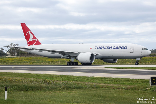 Turkish Cargo --- Boeing 777F --- TC-LJP