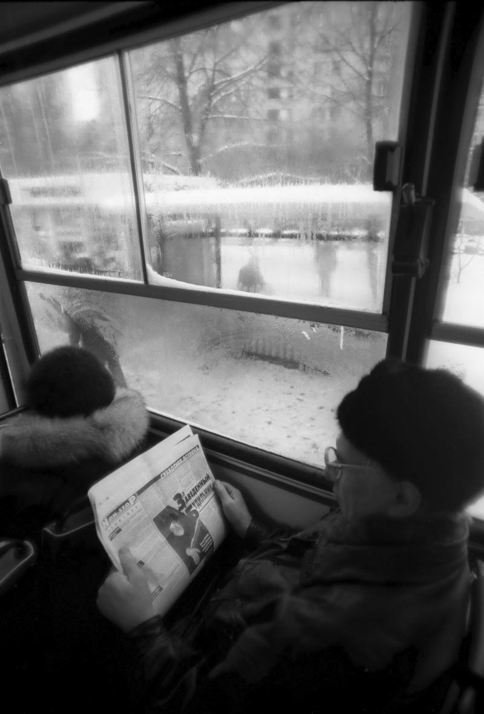 1998. В автобусе