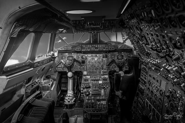 Concorde, le cockpit