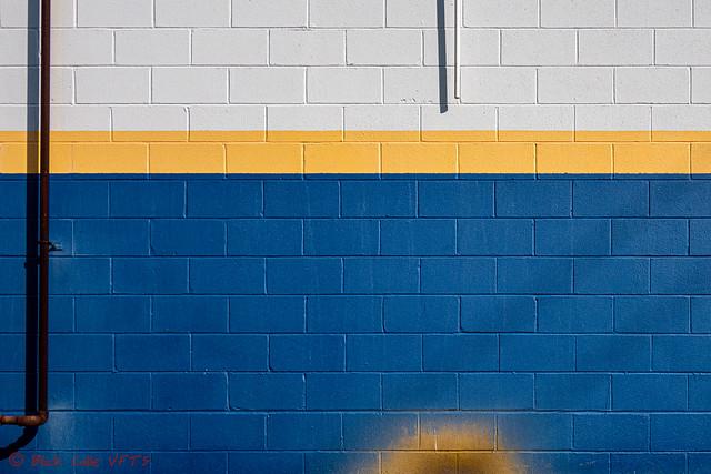 NAPA Cinder Block Wall