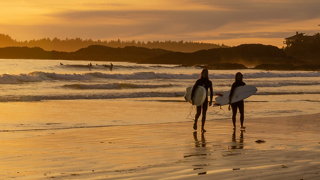 Surfer's twilight