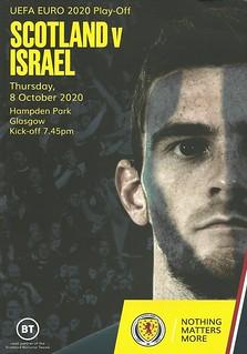 Scotland v Israel 20201008
