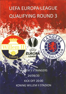 Willem II v Rangers 20200924