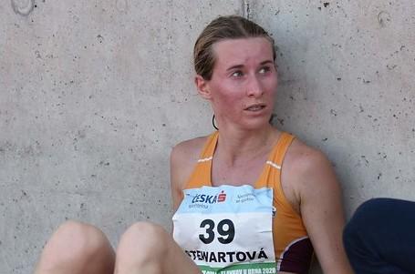 Moira Stewartová v Polsku jen pár sekund od českého národního rekordu
