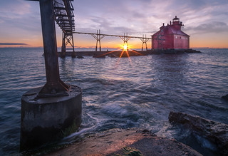 Sunrise on Lake Michigan | by Paul Domsten