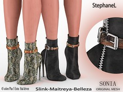 [StephaneL] SONIA BOOTIES FATPACK