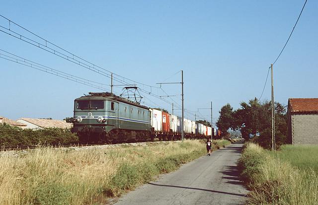 De CC7101 bij Istres