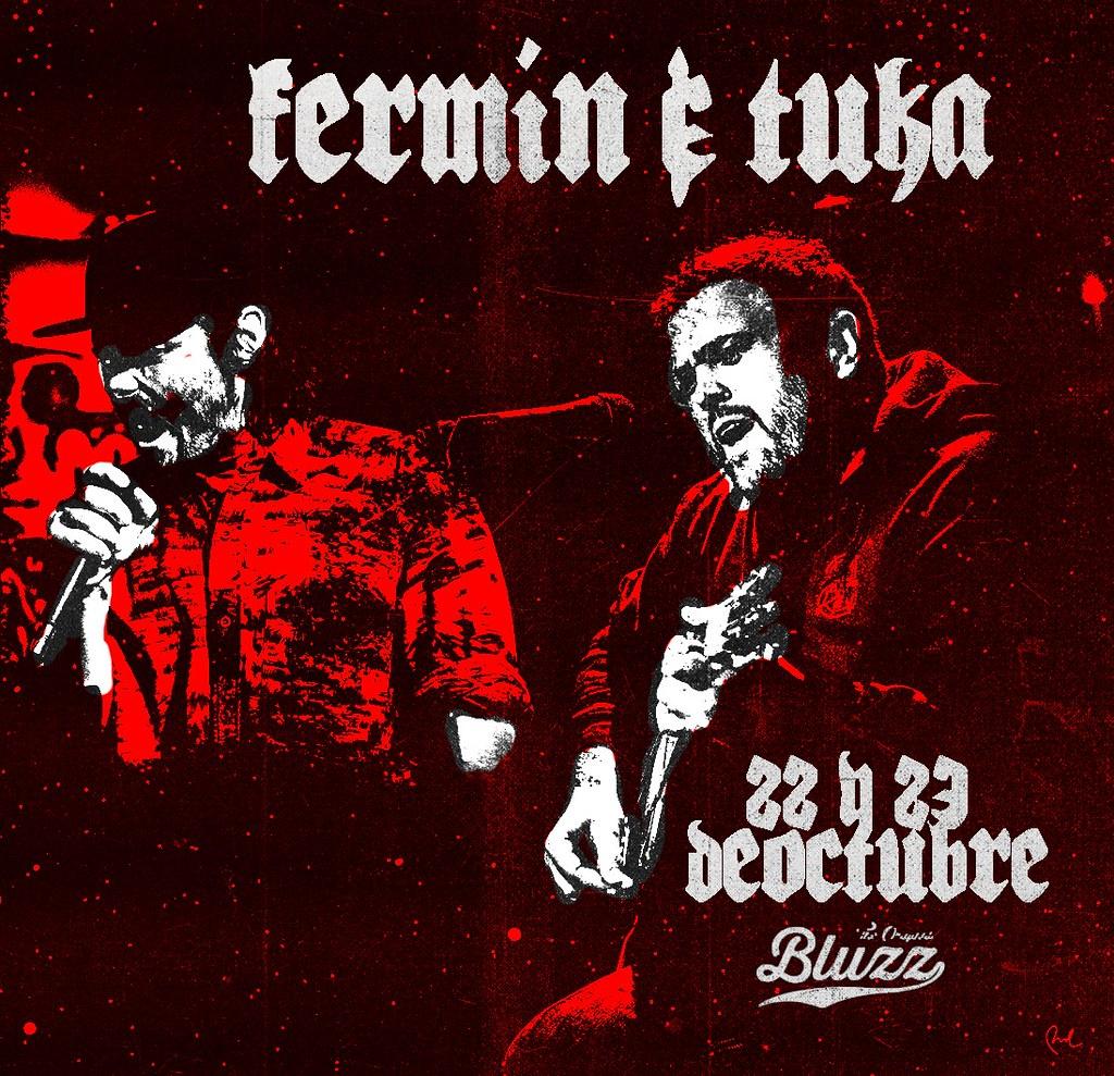 Fermin y Tuka Bluzz bar 22 y 23 de octubre