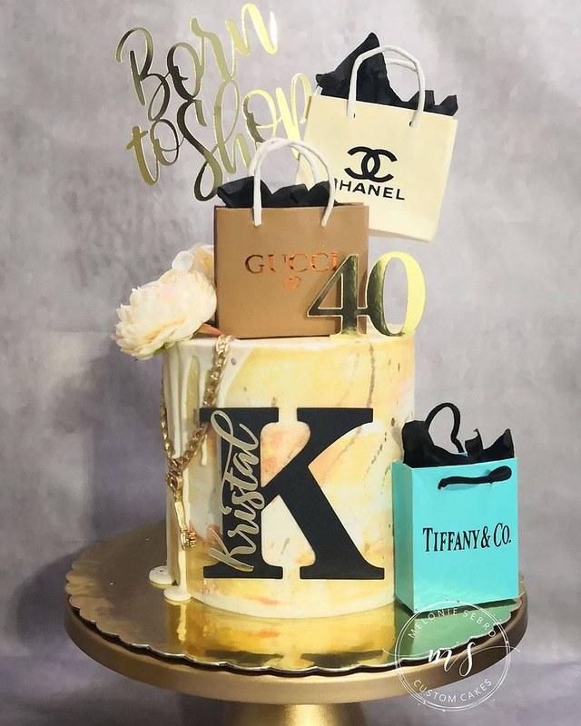 Cake by Melonie Sebro Custom Cakes