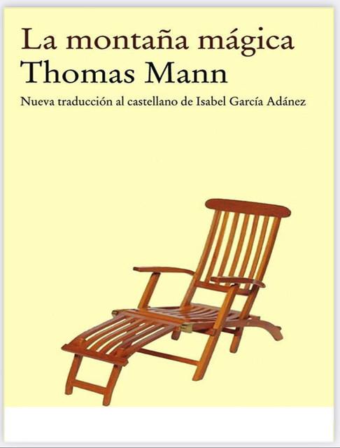 La montaña mágica, de Thomas Mann